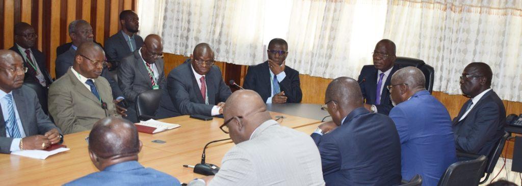 Condoléances du DG au personnel de l'IGT suite au décès de l'Inspecteur Général Trésor Adjoint TOURE Kassoum
